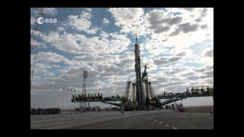 Iriss Soyuz TMA-18M timelapse (4k)