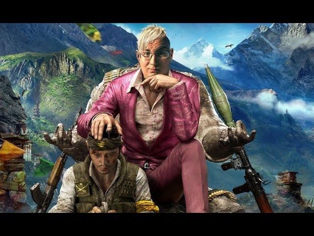 Обзор Far Cry 4 симуляционный open world и радужные трипы в Гималаях