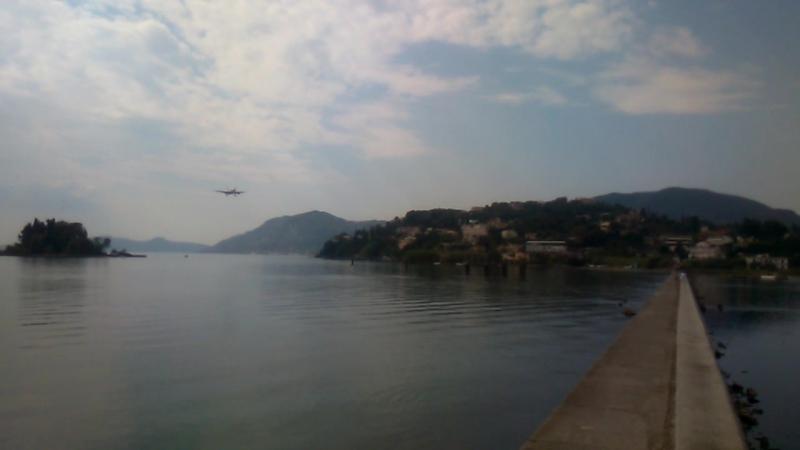 Kanoni Corfu island Greece