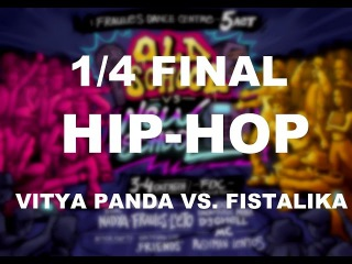 FDC B-day - Битва за Стиль  - Hip hop 1x1 - 1/4 final - Vitya Panda vs  Fistalika