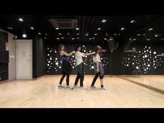 150609 Sixteen Minor A Team - JYP Swing Baby Dance Practice