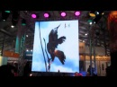Rubik 6 p6 64mm Foldable LED Screen in 2014 Russia Prolight Sound Show by Cloris
