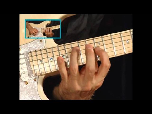 Richie Kotzen Guitar Licks lesson Part 1 смотреть онлайн без регистрации