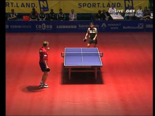 Table Tennis - Attack (with short pips on backhand) Vs Defense (with long pips on backhand) XXVI !