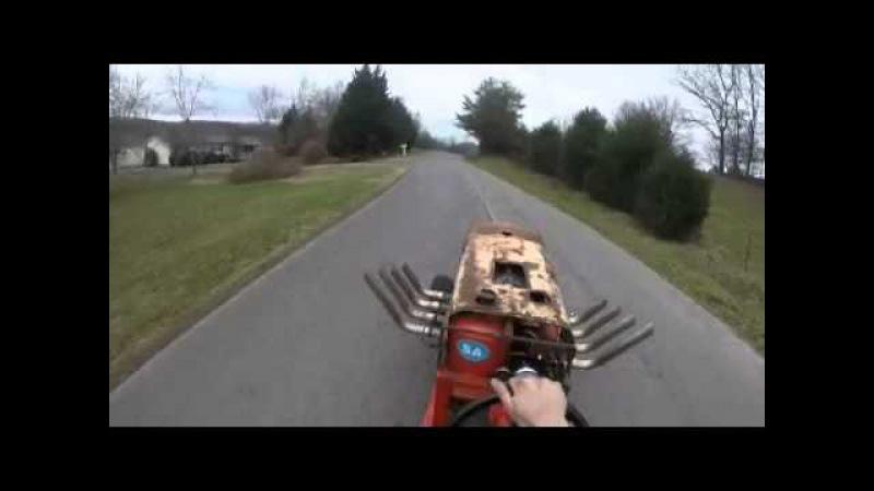 Big block chevy lawnmower road test