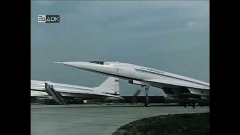 Tupolev Tu 144 Soviet supersonic airliner