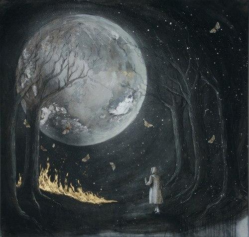 на своей луне я всегда один картинка чему подкидывают иголки