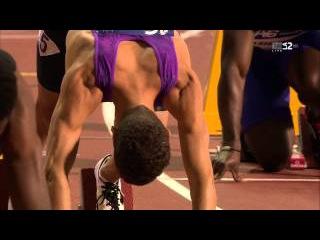 200m Femi Ogunode  New Asian Record - DL Brussels 2015
