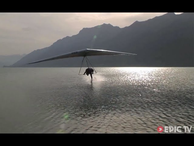 Freestyle Hang Gliding 150kmhr Water Touch | Extreme Diaries with Flo Orley, Ep. 2