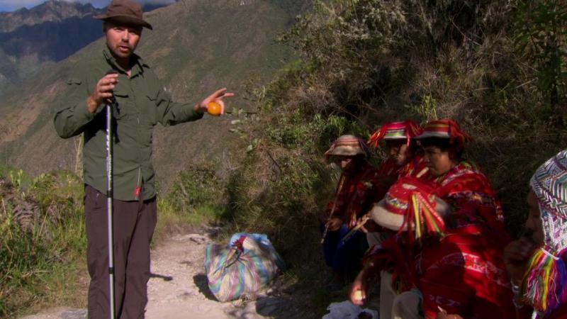 Перу 7 серия 1 сезон Идиот за границей