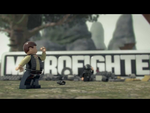 Tank Attack Antics - LEGO Star Wars - Microfighters Ep 2