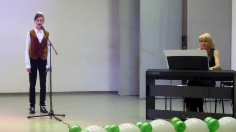 Музична вокально-хорова школа фонду культурно-освітніх ініціатив АЕДА. Виступ 2016 року