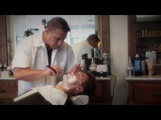 The San Francisco Wet Shave - HairCut Harry experiences Peoples Barber and Shop in SF CA.
