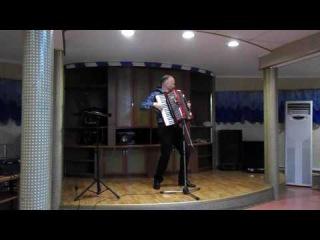 """Аккордеонист Николай Донецкий - """"Рио-рита"""".Выступление на теплоходе."""