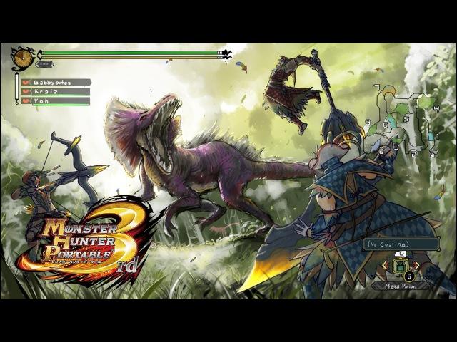 Monster Hunter Portable 3rd. 3 серия - КарусЭл-карусЭл!