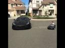 Like Father Like Son C7 Corvette race