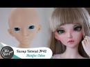 Faceup Tutorial №42 Fairyland Minifee Chloe Custom doll repaint by WillStore