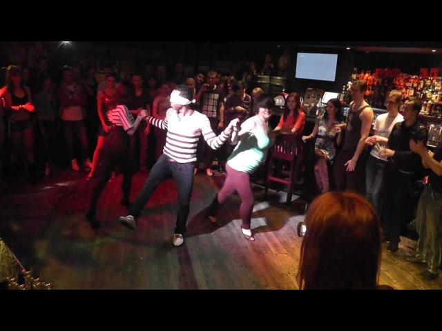 Salsa with Yoandy in Mulata bar Moscow