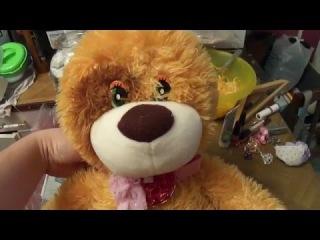 Уронили мишку на пол,оторвали мишке- ушки! Bear dropped to the floor,tore a bear - ears!