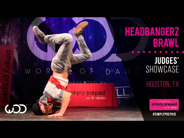 Headbangerz Brawl All Styles Judges WODHTown Powered by SimplyPrepaid from T Mobile