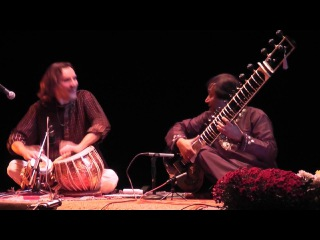 Ustad Shahid Parvez sitar - raag charukeshi - Denis Kucherov on tabla