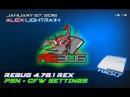 REBUG 4.78.1 REX - ОСОБЕННОСТИ новой прошивке для PS3