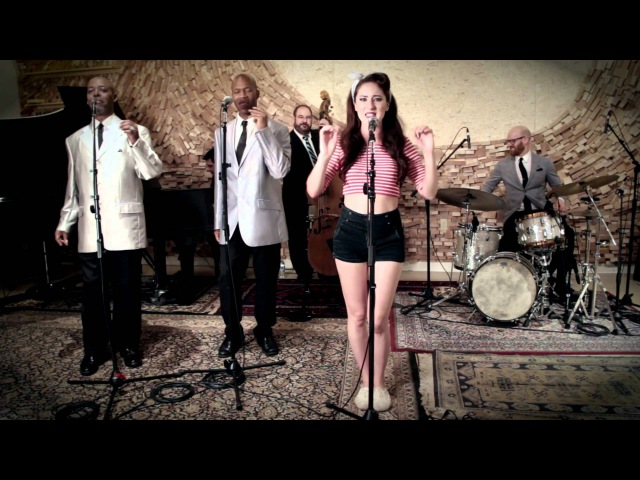 I Kissed A Girl - Vintage 50s Doo Wop Katy Perry Cover ft. Robyn Adele Anderson