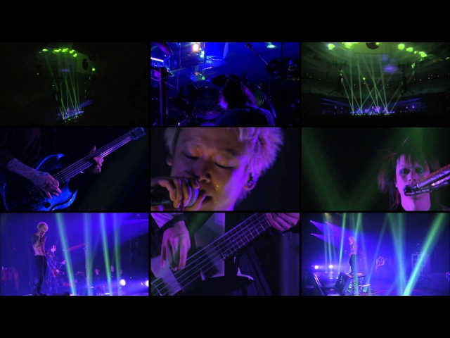 Dir en Grey - KODOKU NI SHISU, YUENI KODOKU. - Split Screen [HD] (Live at NIPPON BUDOKAN)