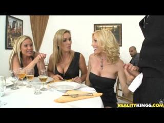 Cfnm dinner women are raped waitress