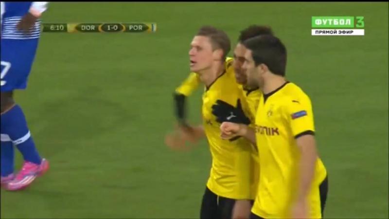 Lukasz Piszczek Borussia Dortmund 1 0 Porto