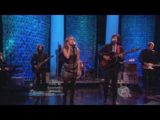 "Pete Yorn and Scarlett Johansson on The Ellen Show performing ""Relator"""