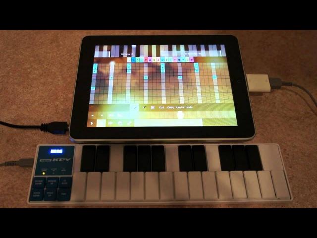 PixiTracker подключение MIDI клавиатуры