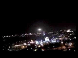JERUSALEM UFO 2011 - All 3 Perspectives