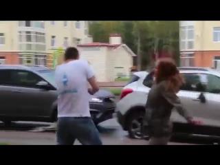 Девушка перепутала машину парня (6 sec)