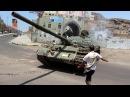 War in Yemen 2015 Heavy Firefighs During Intense Clashes in Aden