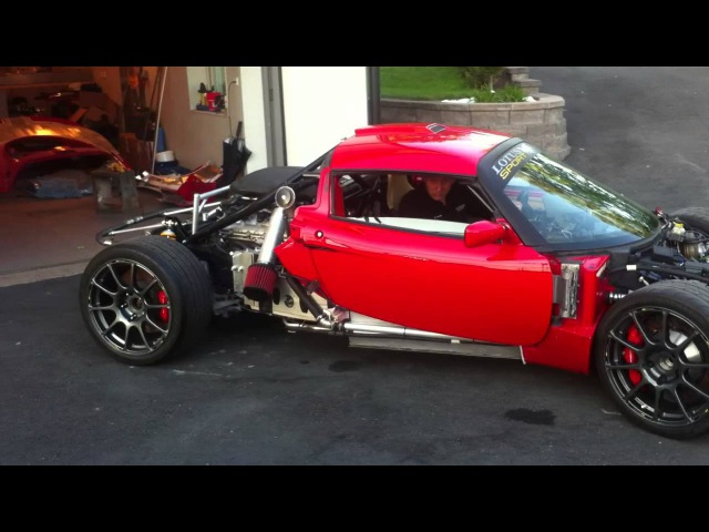 Lotus Exige V10 GTR first testdrive