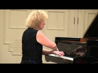 Recital of Mira Marchenko in the Great Hall of the Central Music School
