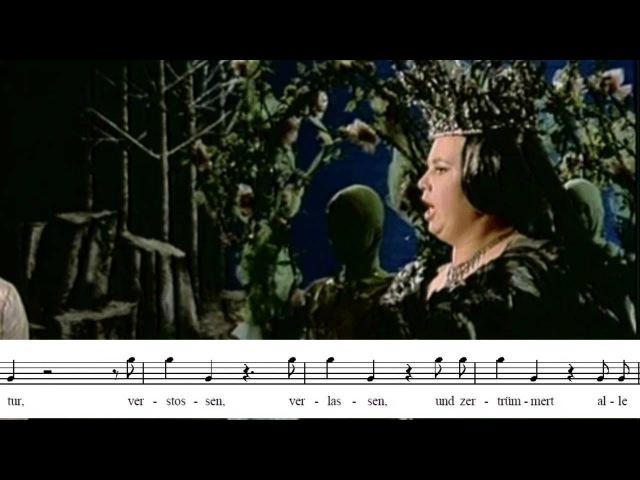 Cristina Deutekom: Der hölle rache. Die Zauberflöte. La flauta mágica. W. A. Mozart