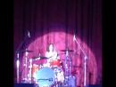 Юлия Савичева грает на барабанах (г. Орск, КДЦ «Молодежный», 02.10.2015 г.)