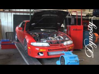 RB25DET S14 240sx GTX3076R 534 RWHP @25psi Dynosty tuned