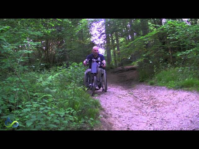 Cougar Hybrid Power Assisted Handcycle