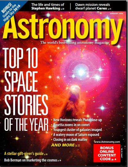 Astronomy - January 2016