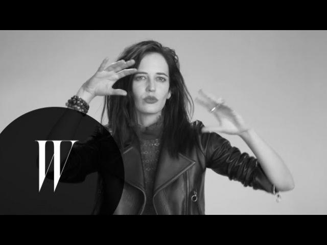 Eva Green Talks Nudity, Her Twin Sister, and Her Crush on Jack Nicholson   Screen Tests   W Magazine