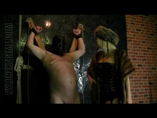 Cock teaser in furs