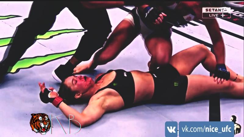 Xolly vs ronda ! By KB