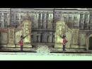 Lithographed tinplate automaton 'The Changing of the Guard at Buckingham Palace'