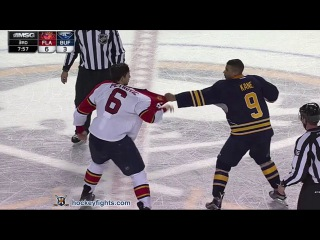 Alex Petrovic vs Evander Kane Feb 9, 2016 - Round 3