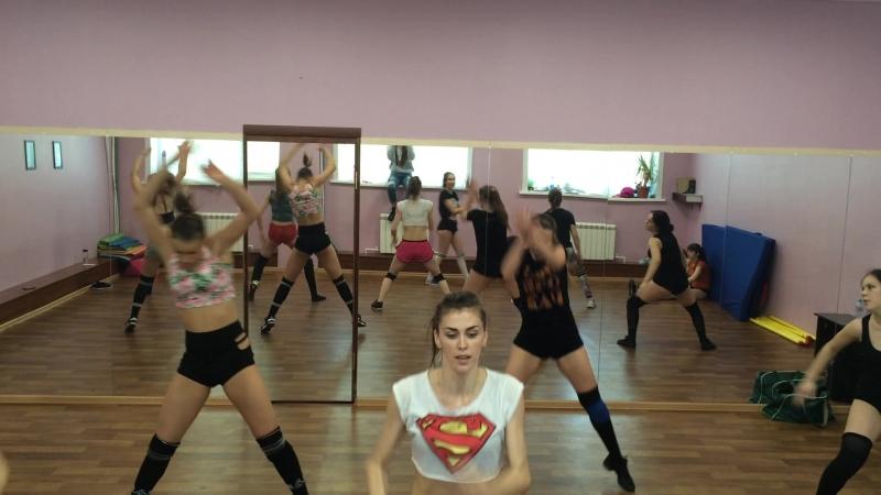 TWERK DANCE HALL Parti2 Танцуем все Choreo by Кристина Корецкая