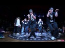 KOD Russia|Bras vs What the flock |Hiphop Final| 2016KODWORLDCUP