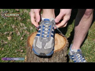 """A tip from illumiseen- how to prevent running shoe blisters with a """"heel lock"""" or """"lace lock"""""""